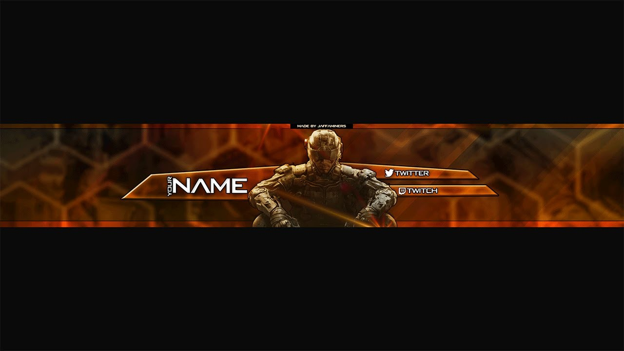Black Ops Iii Banner Template And Speed Art Youtube