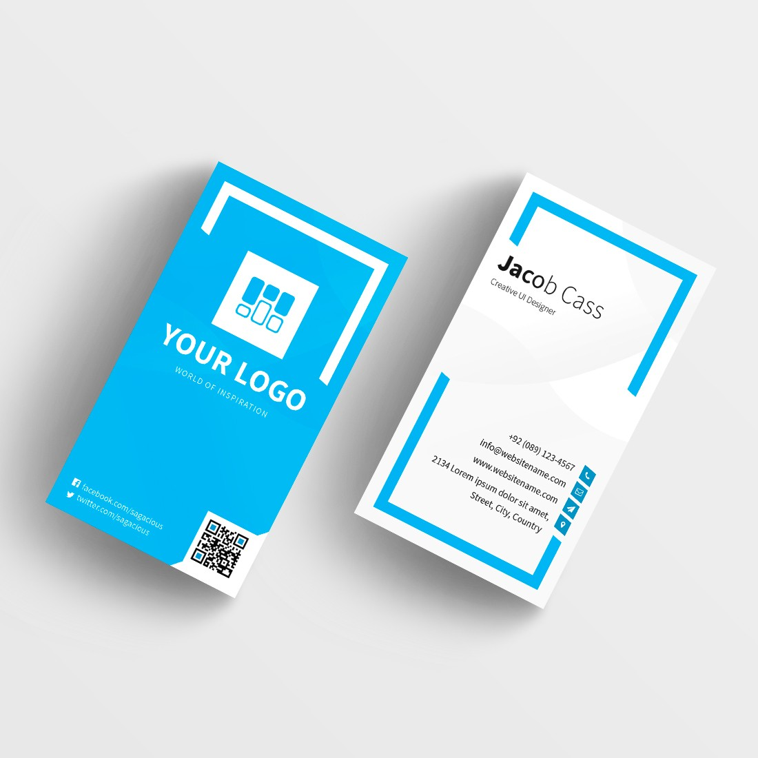 Credit Card Business Card Template