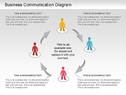 Business Communication Diagram For Powerpoint