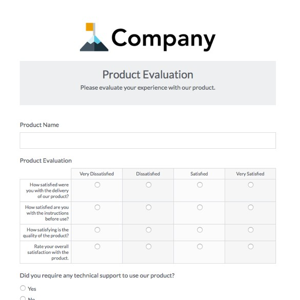 Business Feedback Form Template Business Form Templates