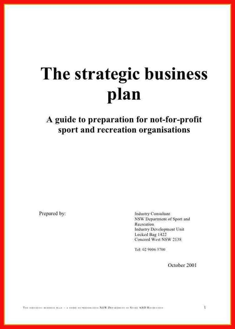 Business Plan Cover Page Apa Example