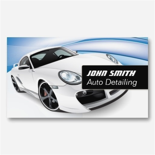 Car Detailing Business Cards Template Best Auto