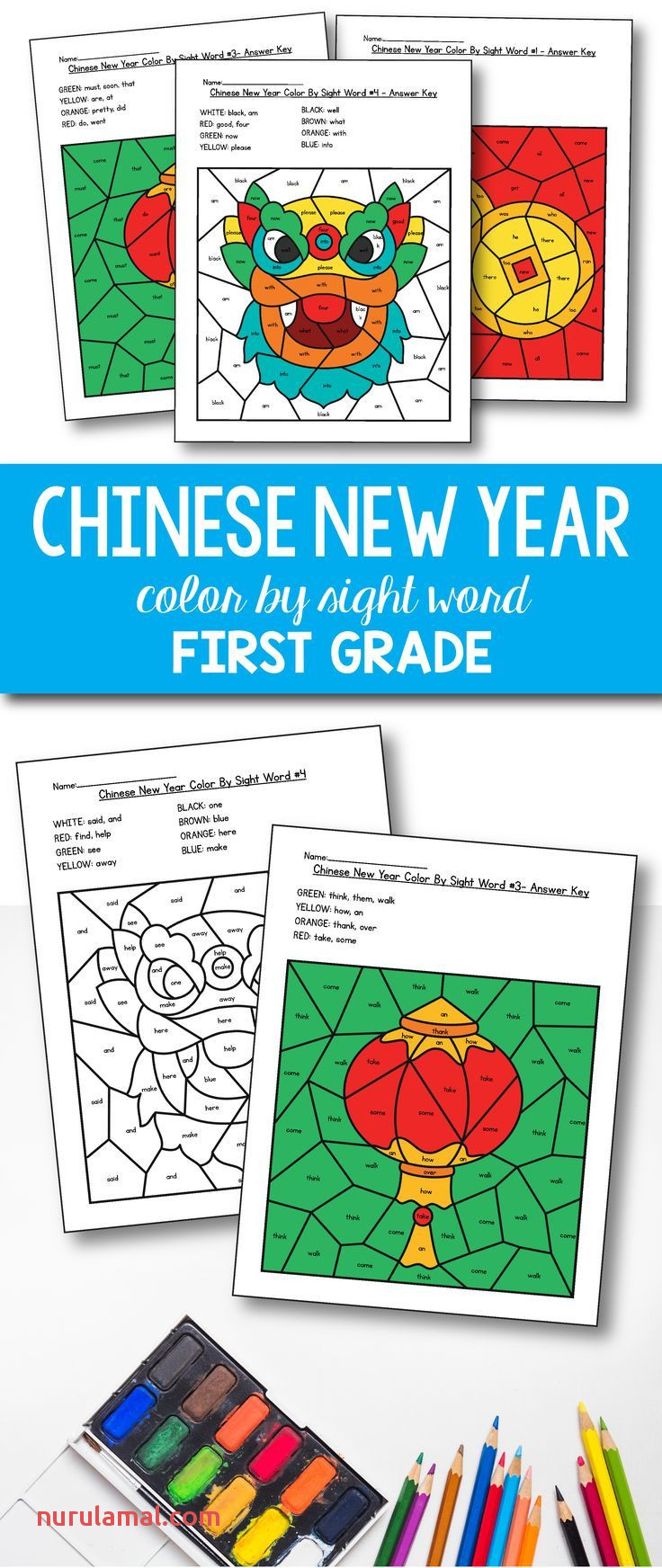 Chinese New Year Activities Chinese New Year Coloring for