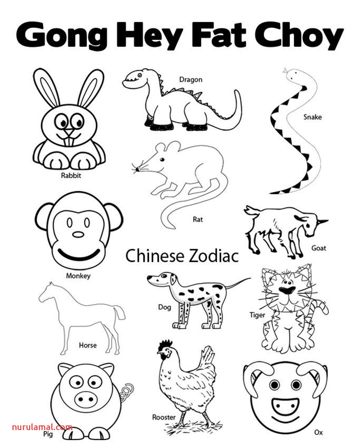 d7c1eae562a5863bc81dcb f210c 28 collection of chinese zodiac sign coloring pages high 1219 1501