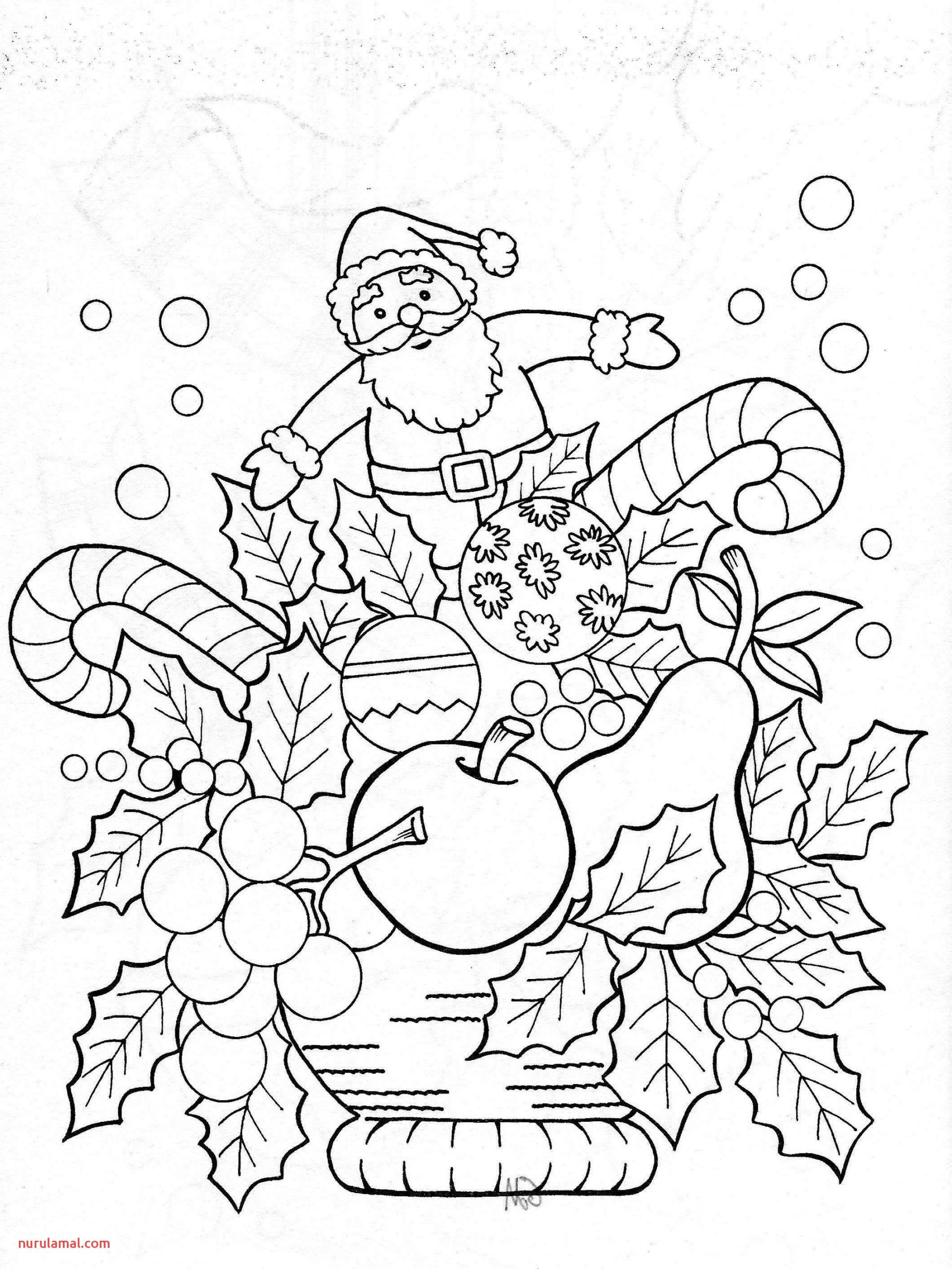 Christmas Coloring Pages for Printable New Cool Coloring
