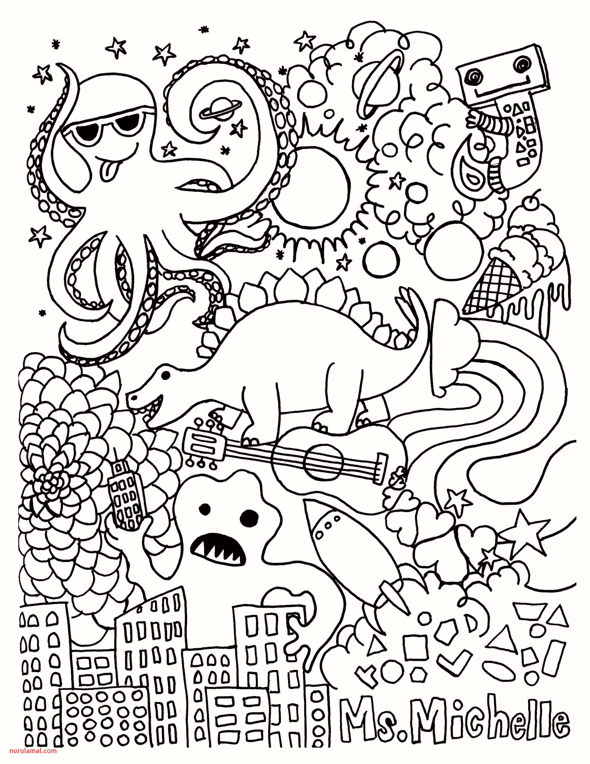 Christmas Colouring Pages Free Download Pusat Hobi