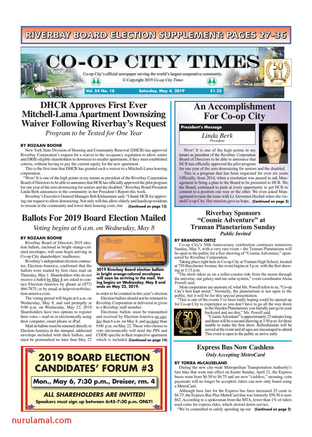 Co Op City Times 05 04 19 by Co Op City Times issuu
