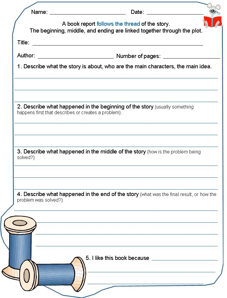 Coaching Our Kids With Aspergers Book Report Template