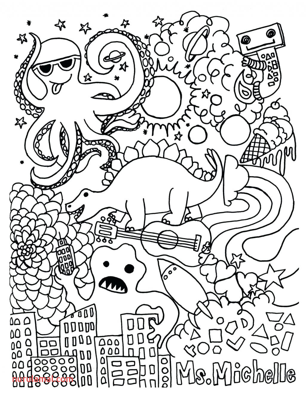 Coloring Page Free Math Coloring Worksheets Hours In