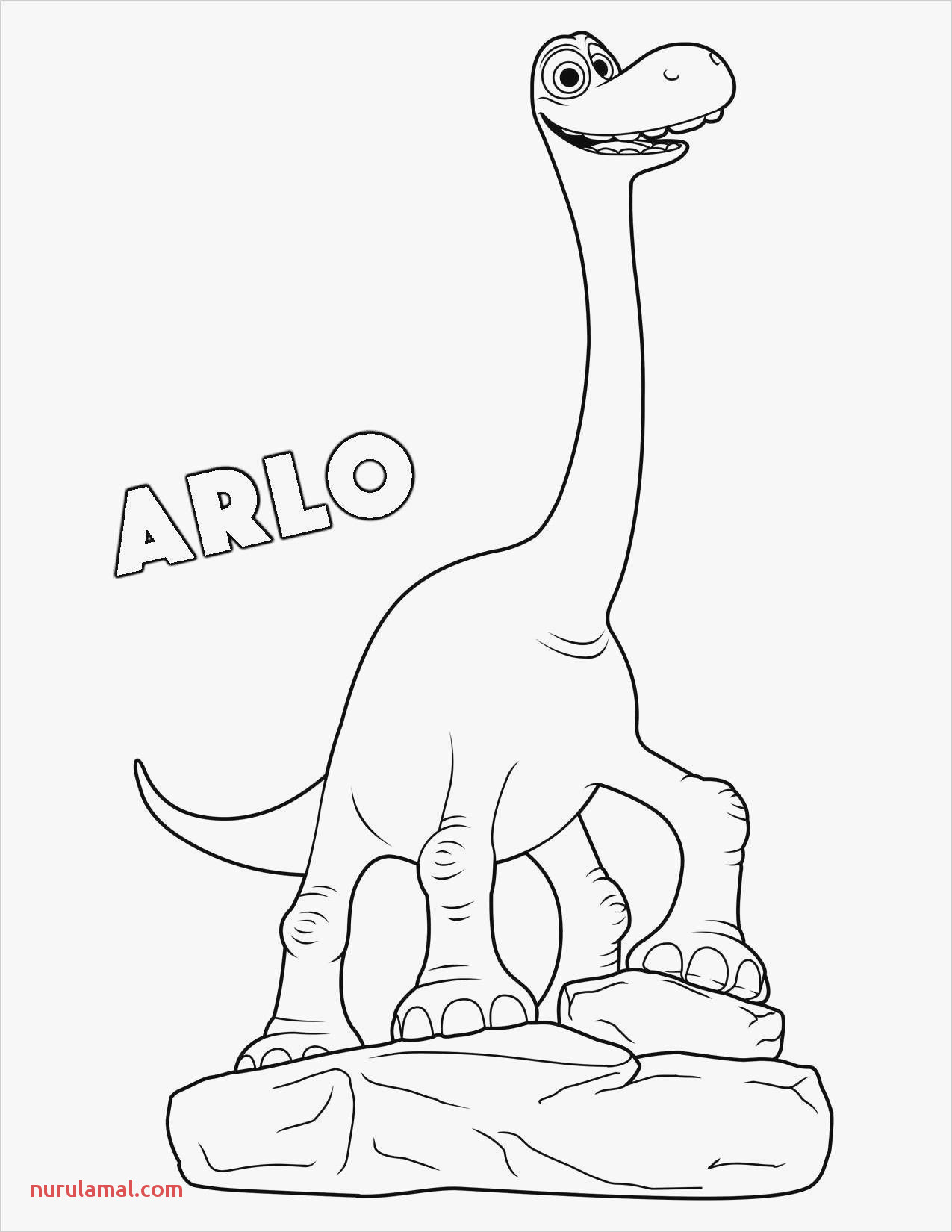 Coloring Pages Unique Simple Dinosaur Coloring Hivideoshow