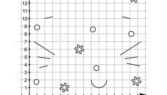 Coordinate Graphing Draw by Coordinates Math Worksheet