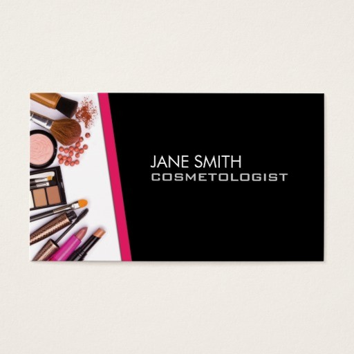 Cosmetologist Business Card Templates