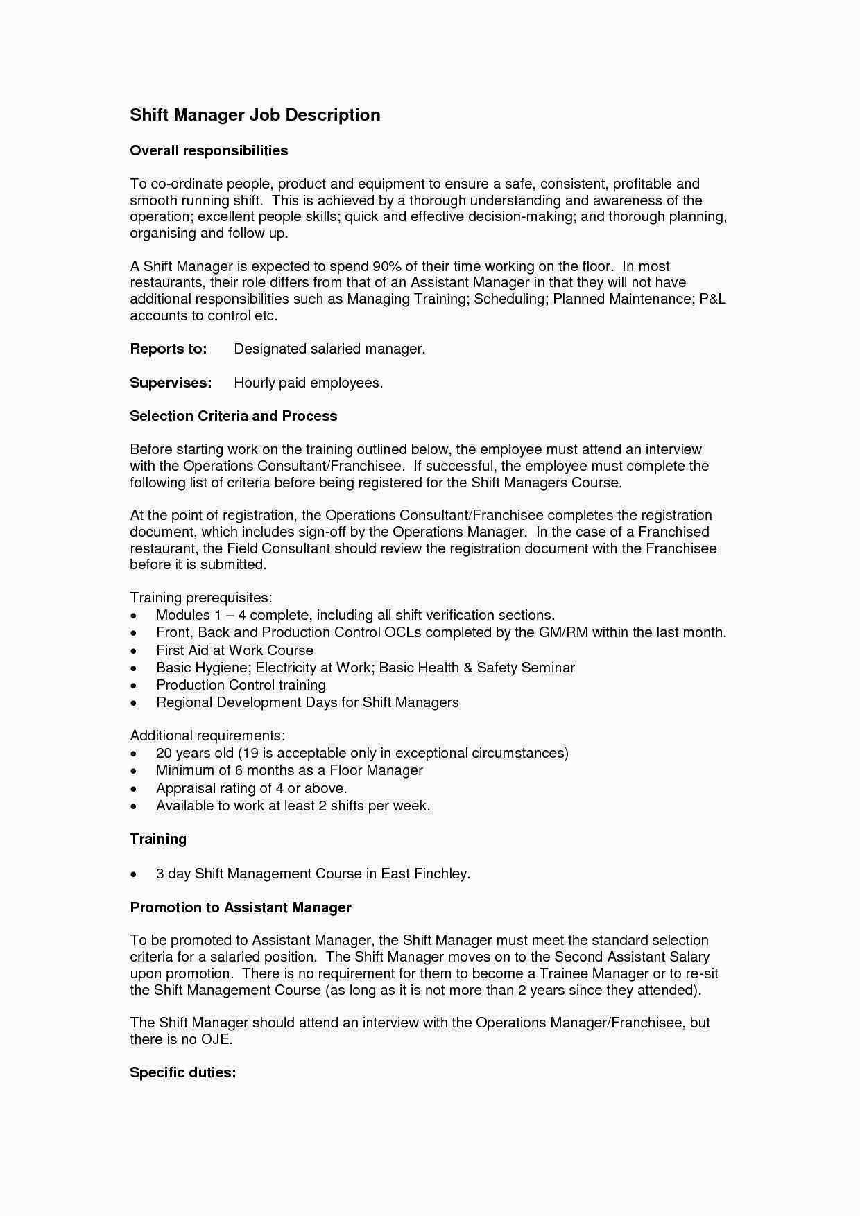 Cover Letter For Assistant Property Manager Fresh