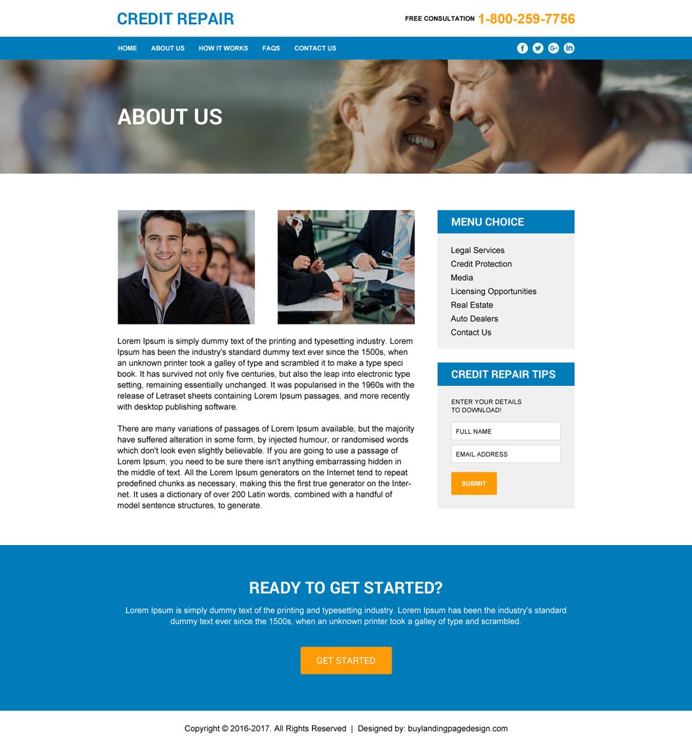 Credit Repair Html Templates To Create Your Brand New Website