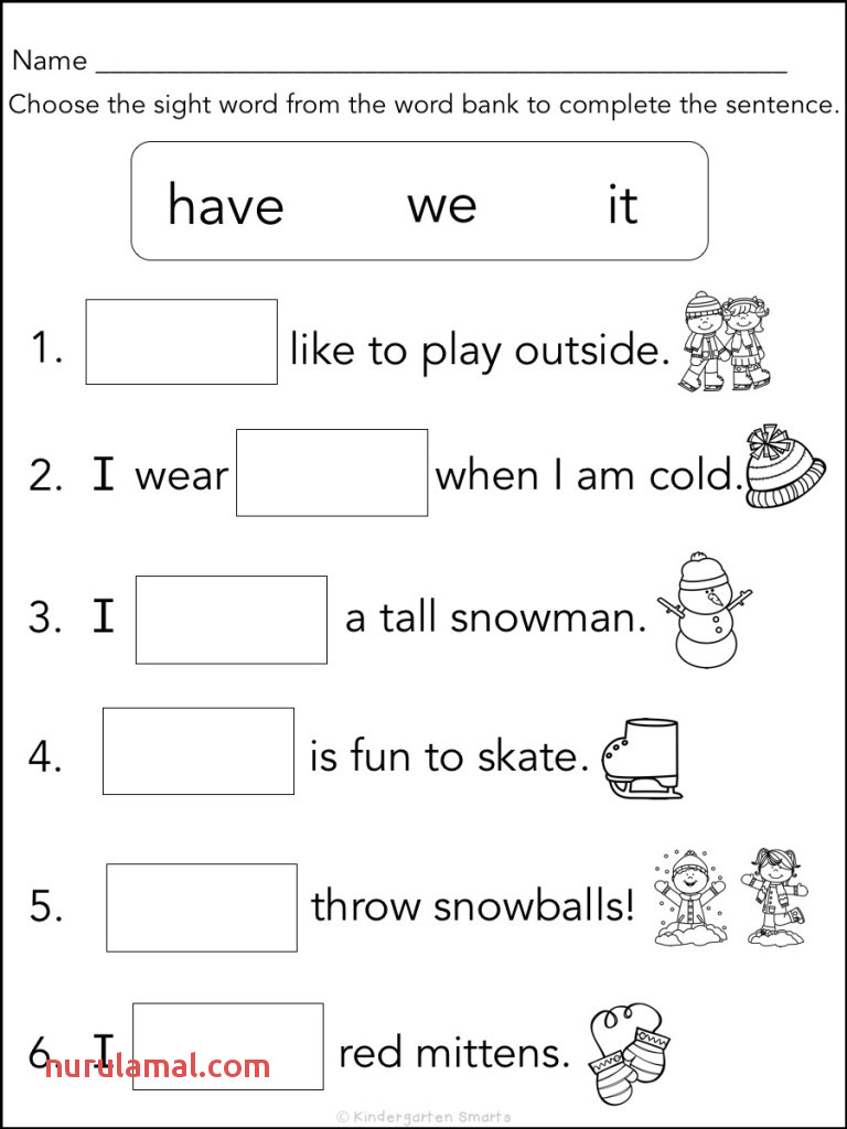 Critical Sight Word Book Printable