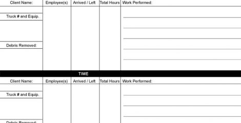 28+ Daily Work Sheet For Employee