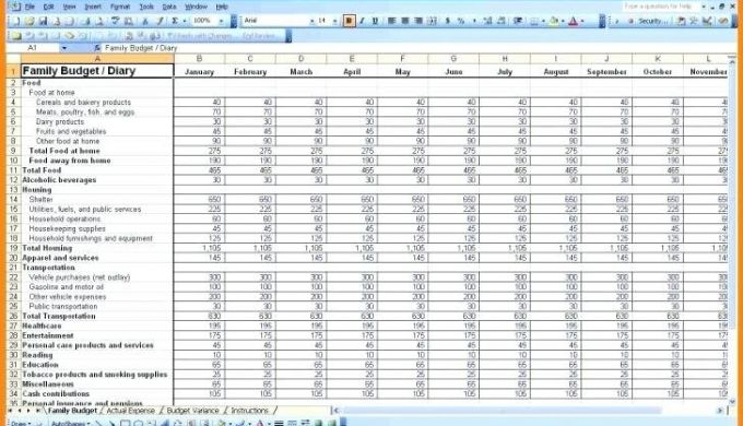 Dave Ramsey Budget Spreadsheet Template Template Of
