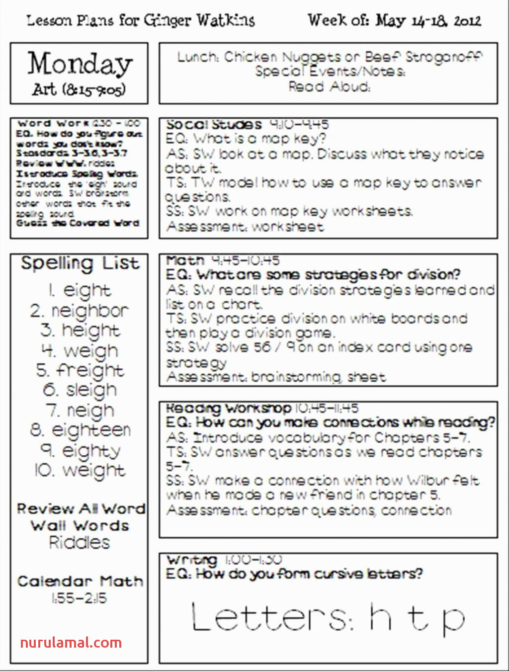Department Education Worksheets Printable English for