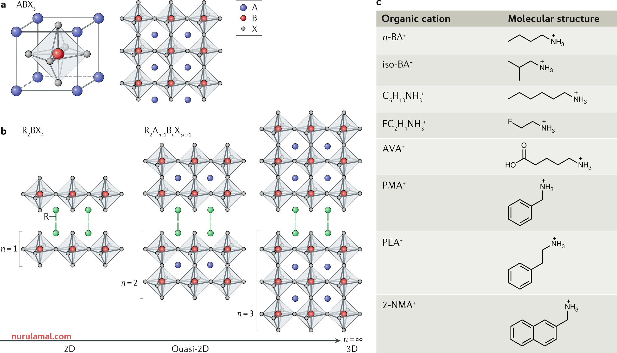 Dimensional Tailoring Of Hybrid Perovskites for