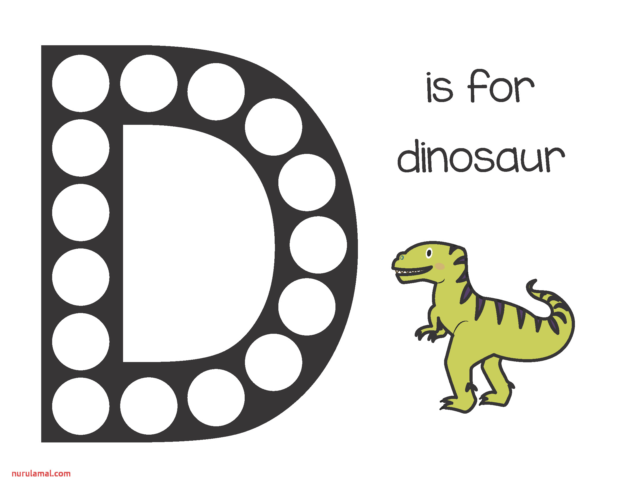 Dinosaurs Do A Dot Printables Free Gift Of Curiosity