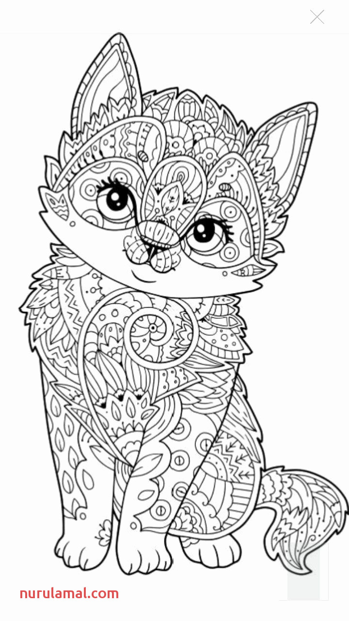 Dog Mandala Coloring Pages