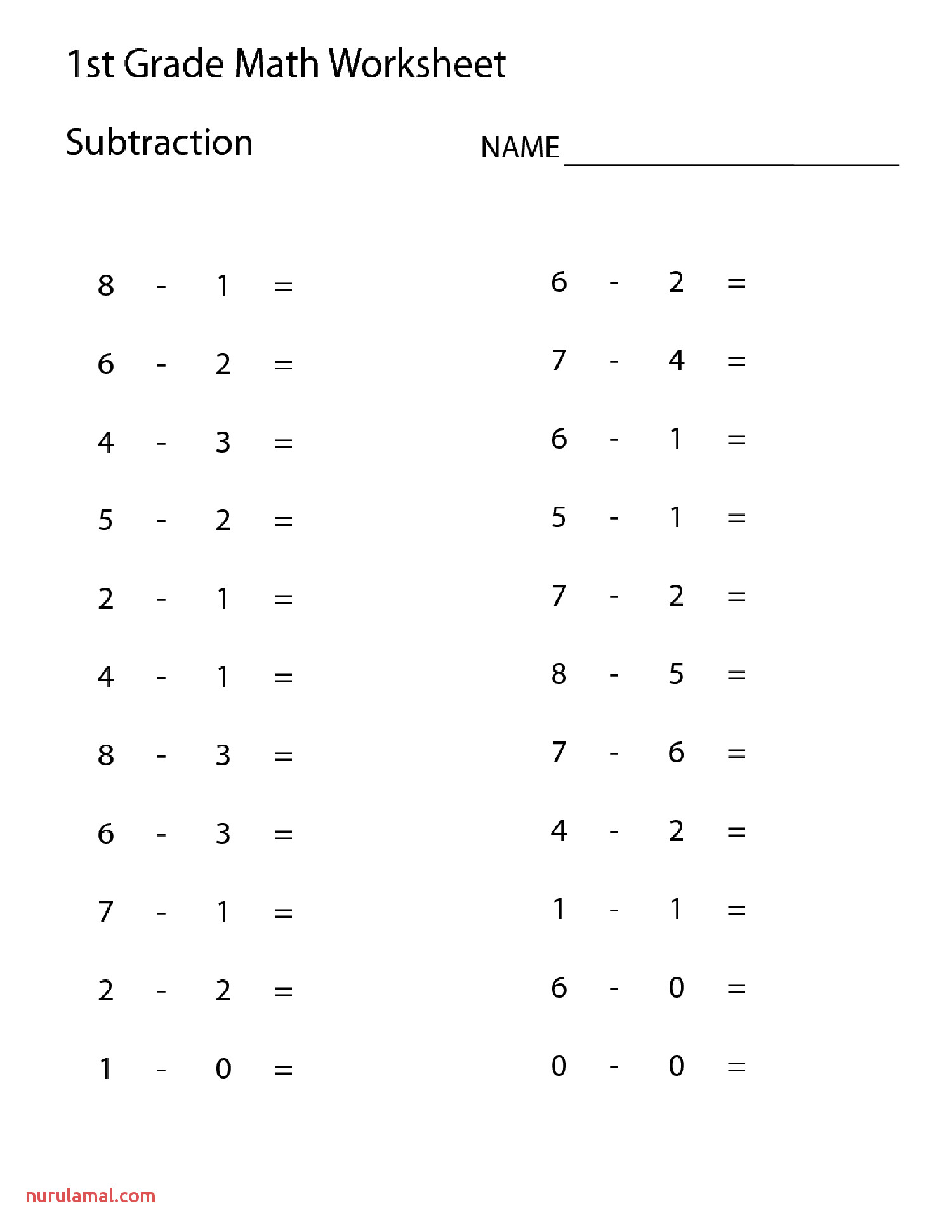 Domino Math Worksheets Collection solutions First Grade