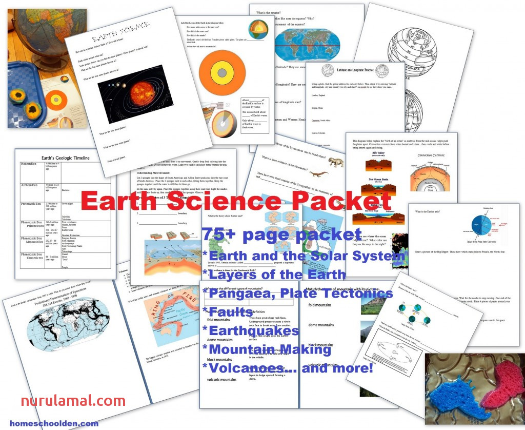 Earth Science Packet On the Layers Of the atmosphere now