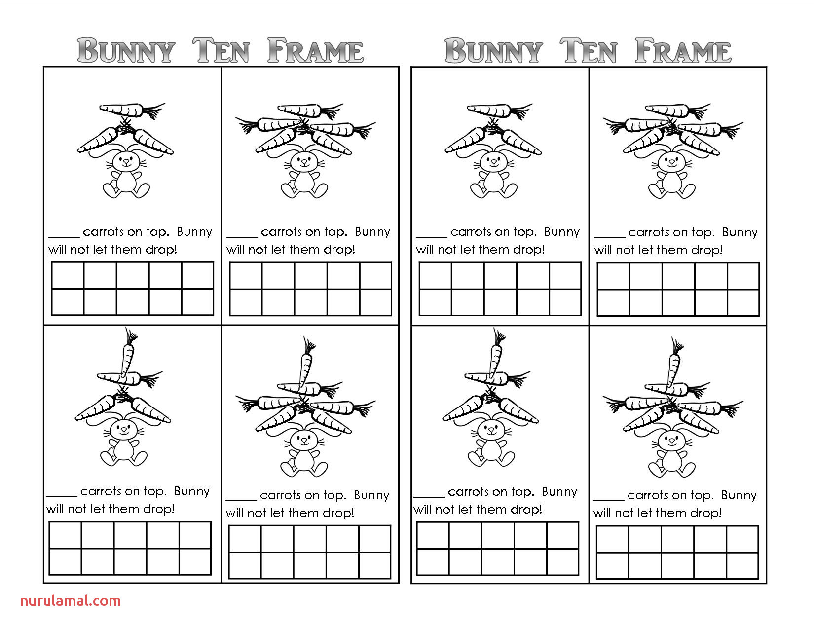 Easter Bunny theme Unit Printables Lessons Ideas for