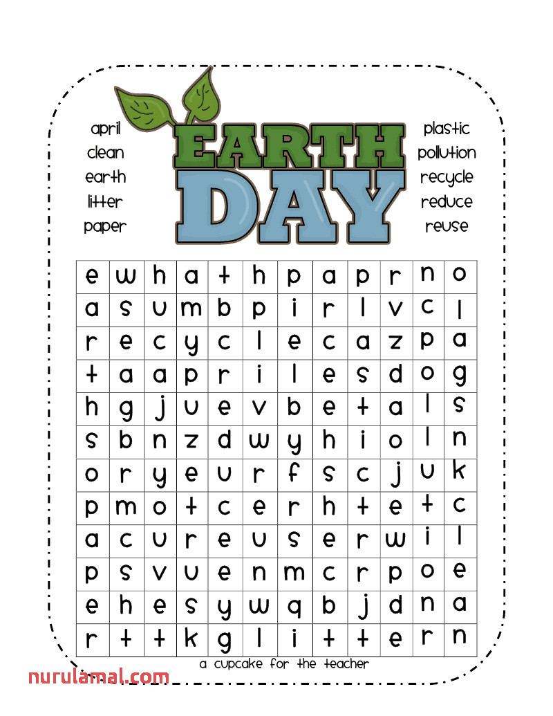 earth day wordsearch 3