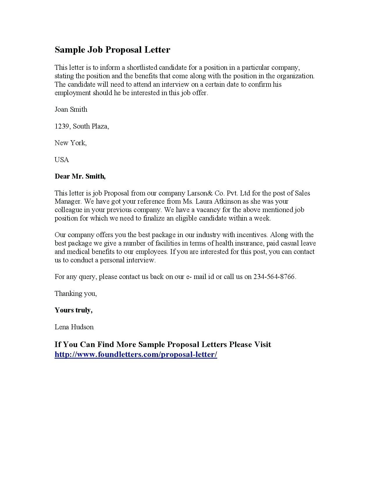 Employment Counter Offer Letter Template Samples Letter