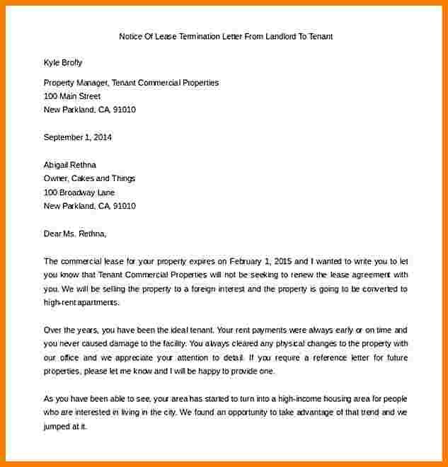 End Of Lease Letter To Tenant Sales Slip Template