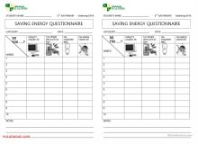 Energy Saving Worksheets Energy Etfs