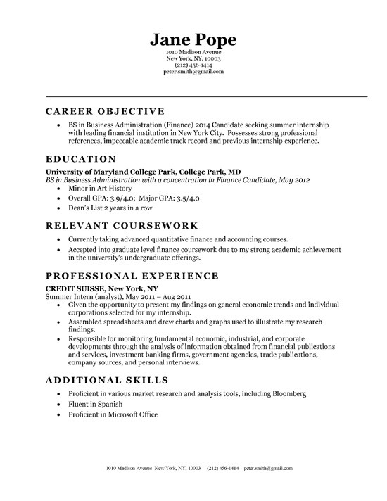 Entry Level Accounting Resume Summary Cover Letter