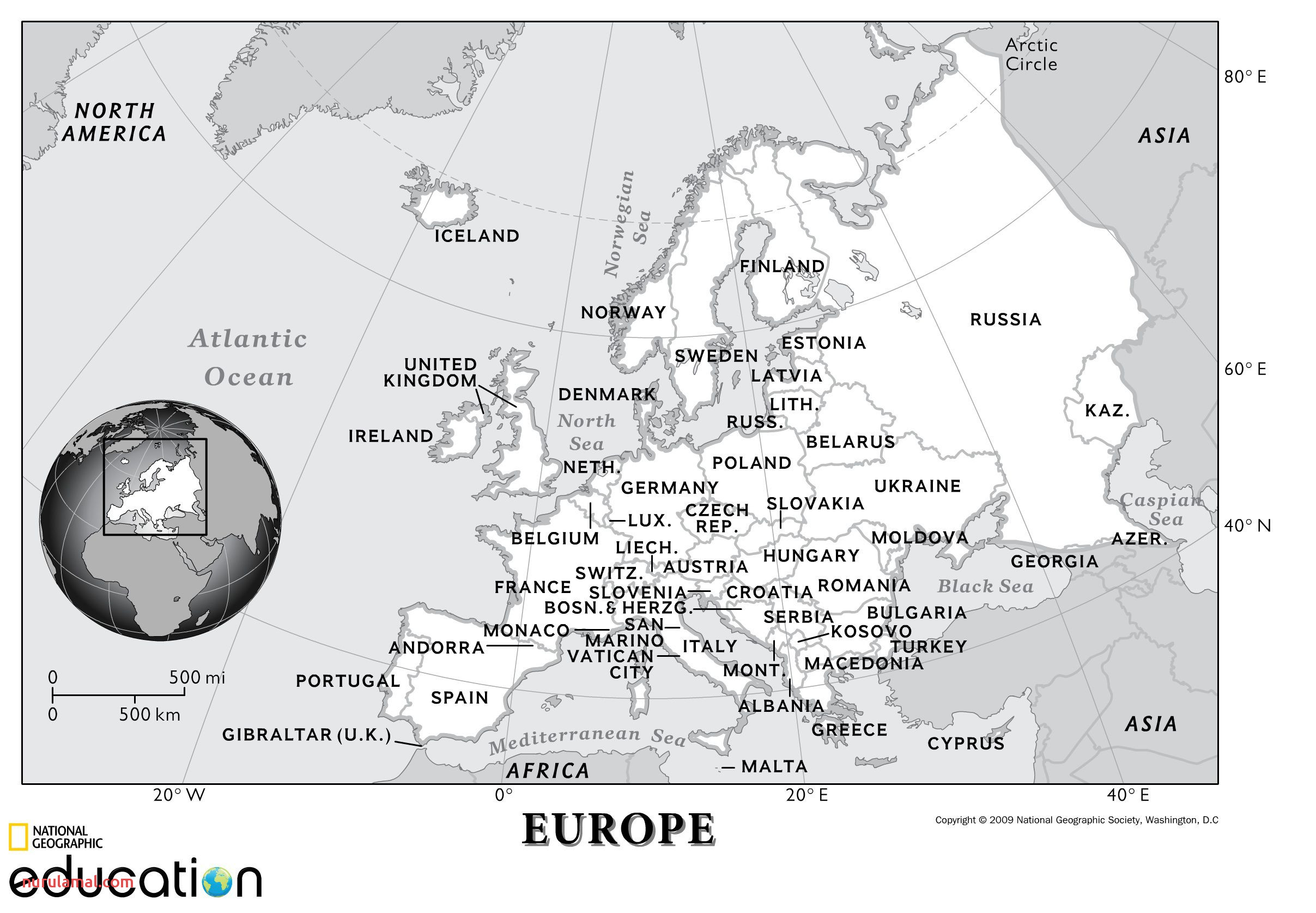 Europe Human Geography
