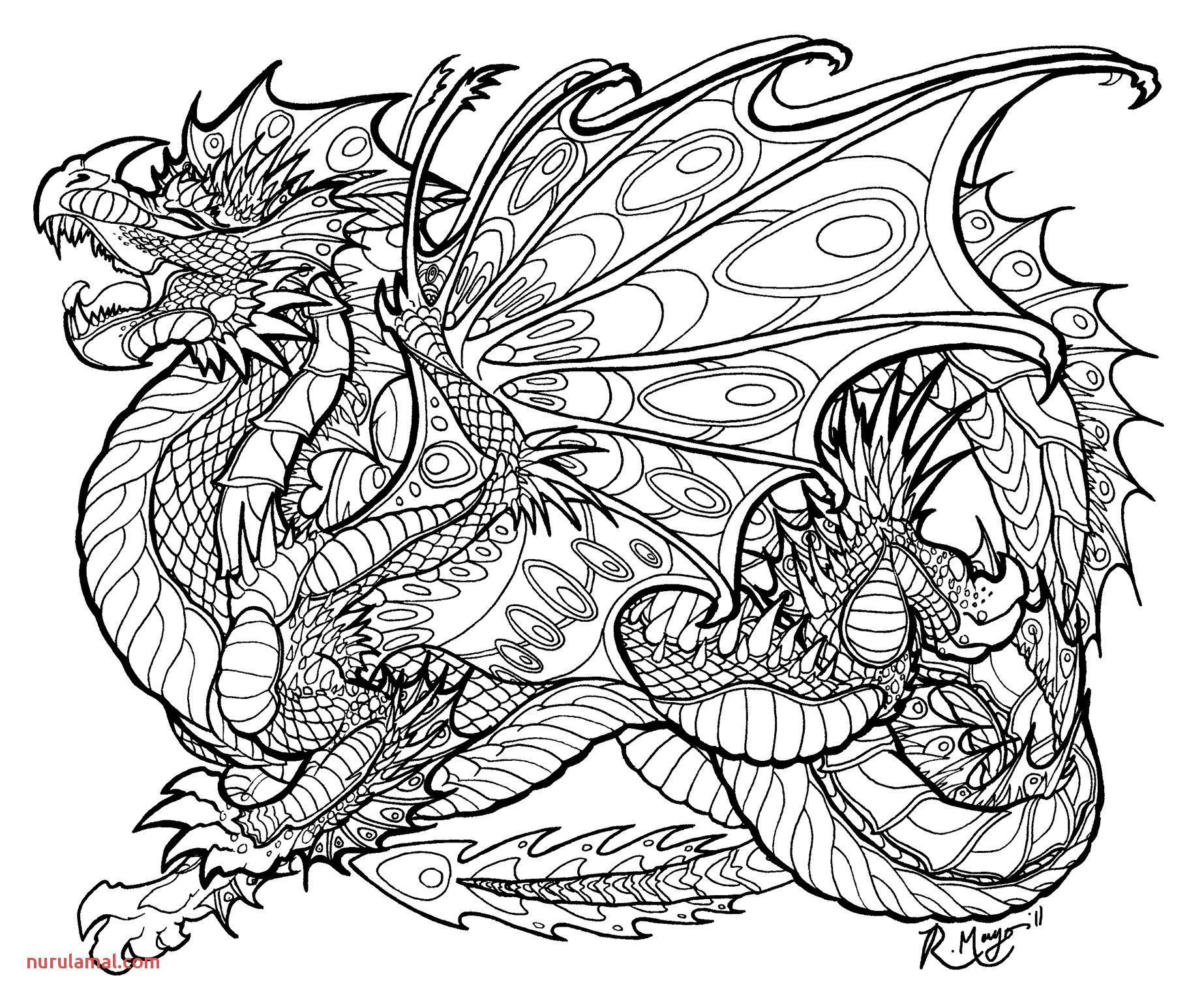 555fb54d09c29c61eb62f1f4b2210cb0 evil dragon coloring pages for adults to print coloring for kids 1846 1531