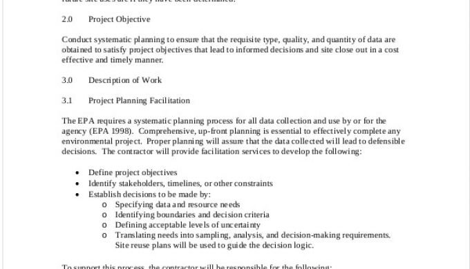 Example Of Project Scope Project Scope Template
