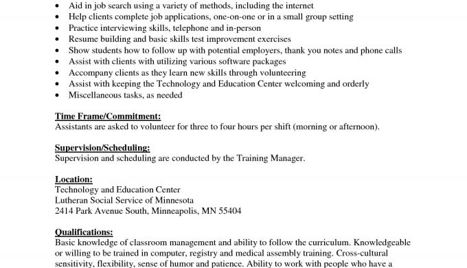 Example Resume For Medical Assistant Certified Job Example