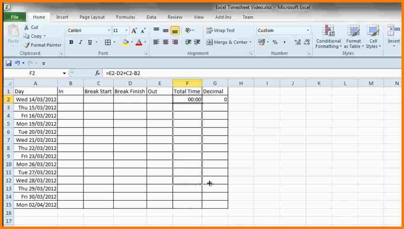 Excel Payroll Calculator Template Canada Samples Of