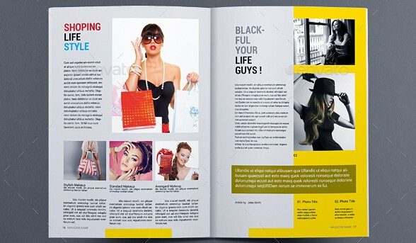 Fabulous Clothing Magazine Templates To Boost Your