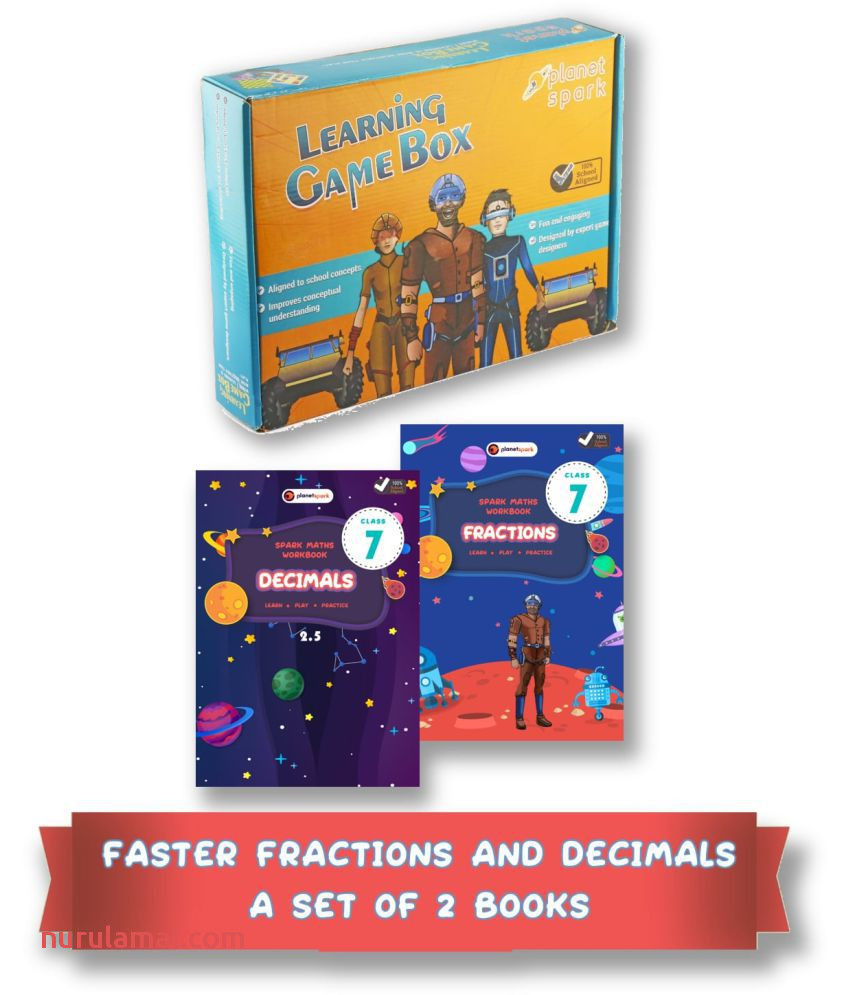 Faster Fractions and Decimals Bundle Set Of 2 Maths Practice Workbooks Class 7 Ages 11 13 the Ultimate Guide to Mastering Fractions and