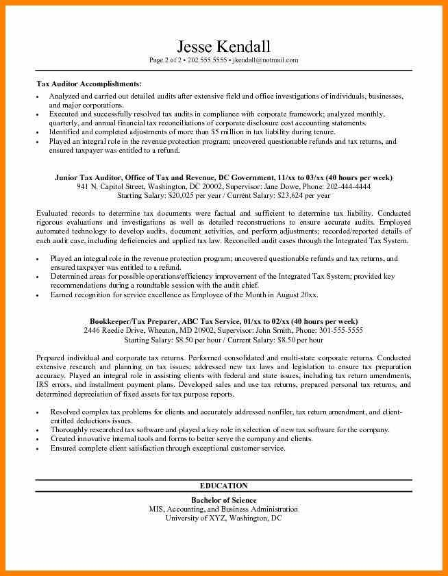 Federal Resume Templates