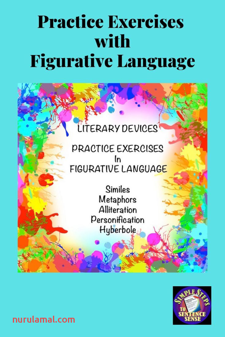 Figurative Language Writing Worksheets In Google Drive