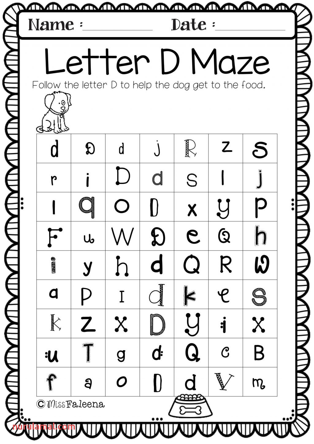 Fill In the Blank Worksheets for Kindergarten Printable