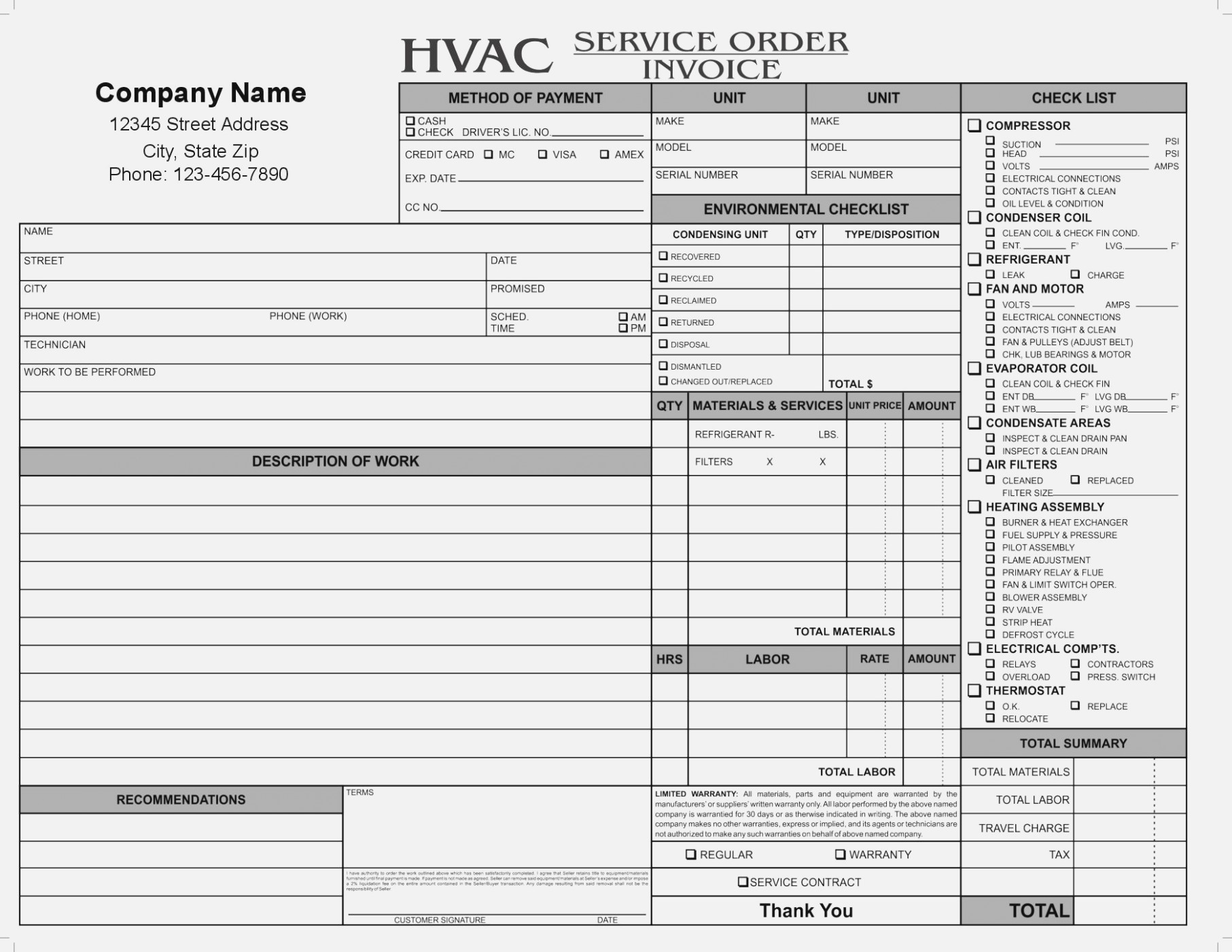 Five Moments To Remember From Hvac Test And Form Information