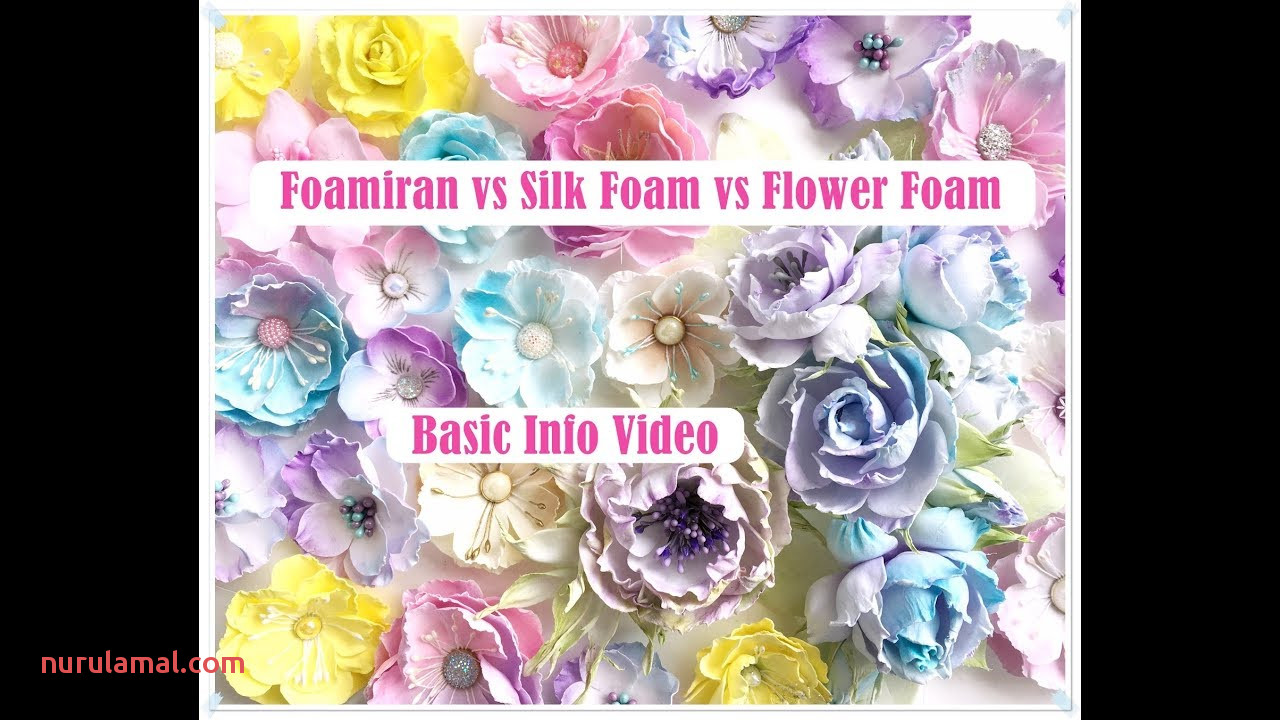Foamiran Vs Silk Foam Vs Flower Foam What is the Difference Emilia Sieradzan