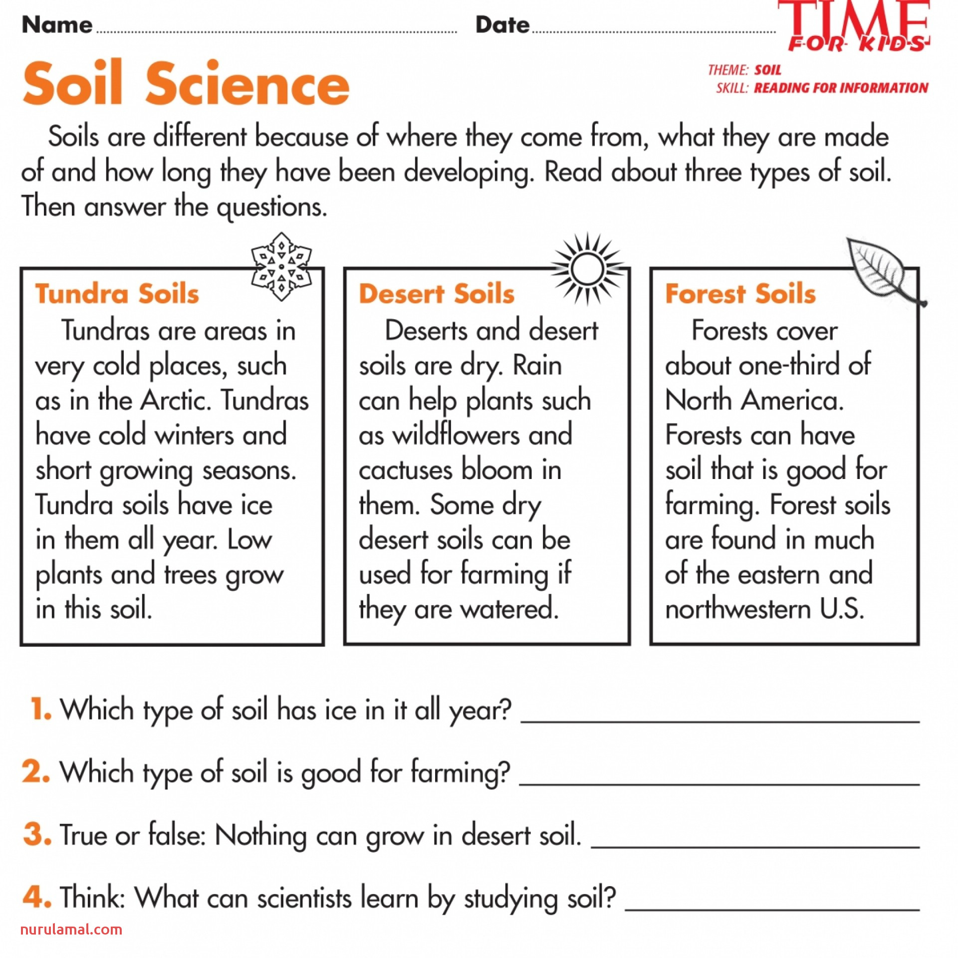 Foreshadowings Weathering and Erosion Test Pdf for 5th Grade