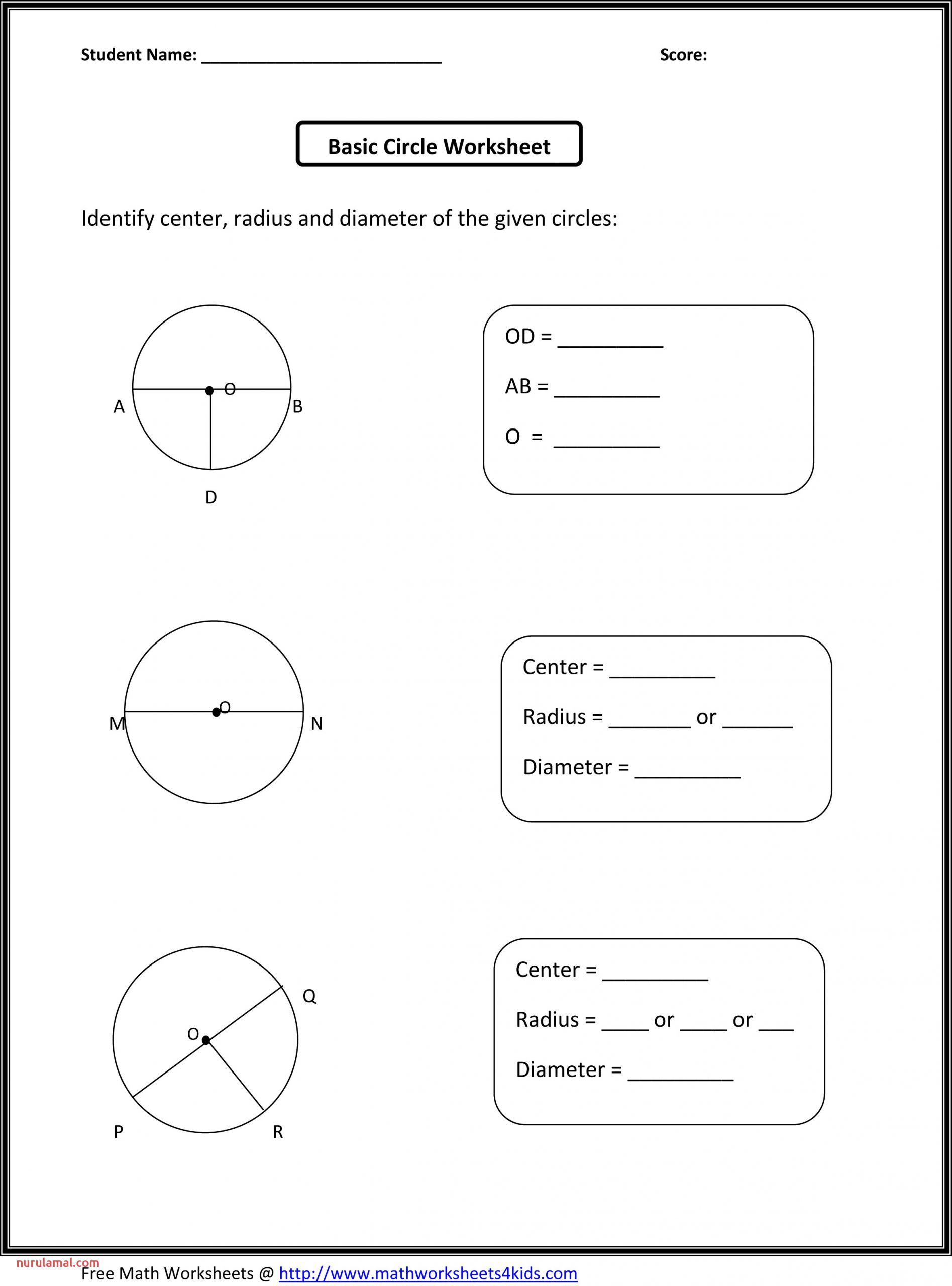 Free 3rd Grade Fraction Worksheets 3rd Grade Free