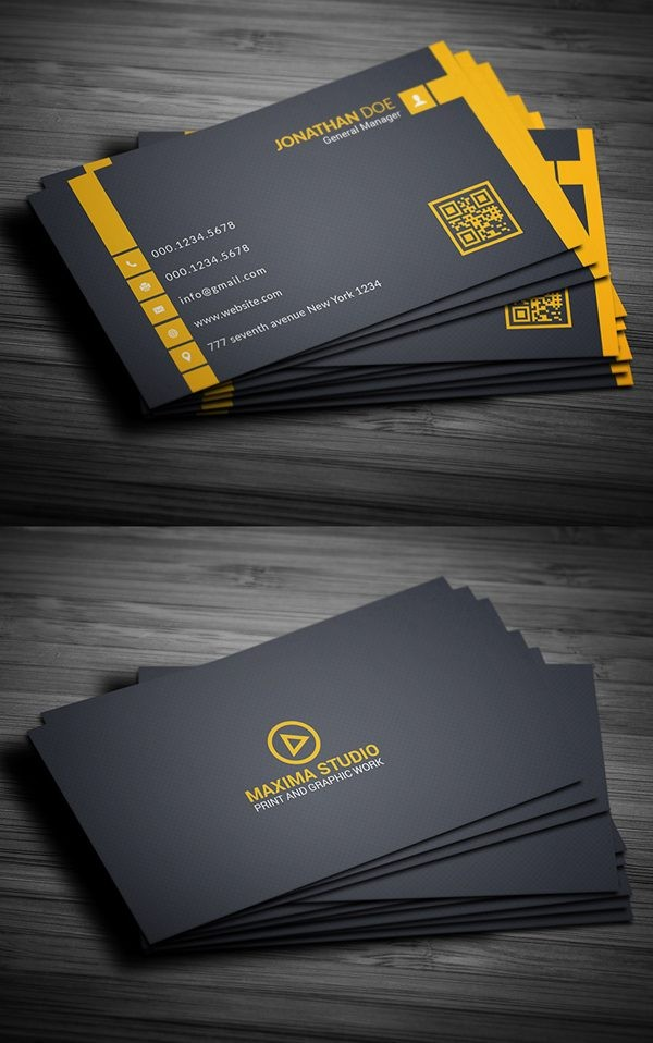 Free Business Card Templates Theveliger