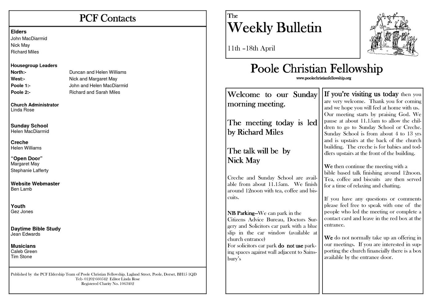 Church Directory Template Microsoft Publisher