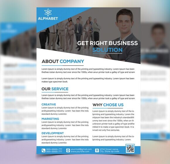 Free Corporate Business Flyer Templates Psd Titanui